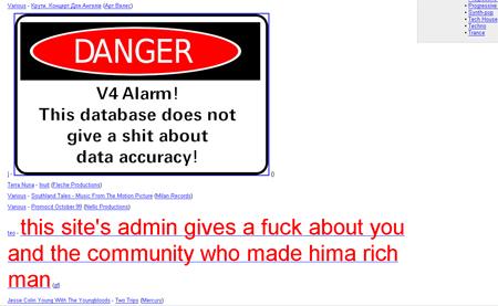 discogs hack